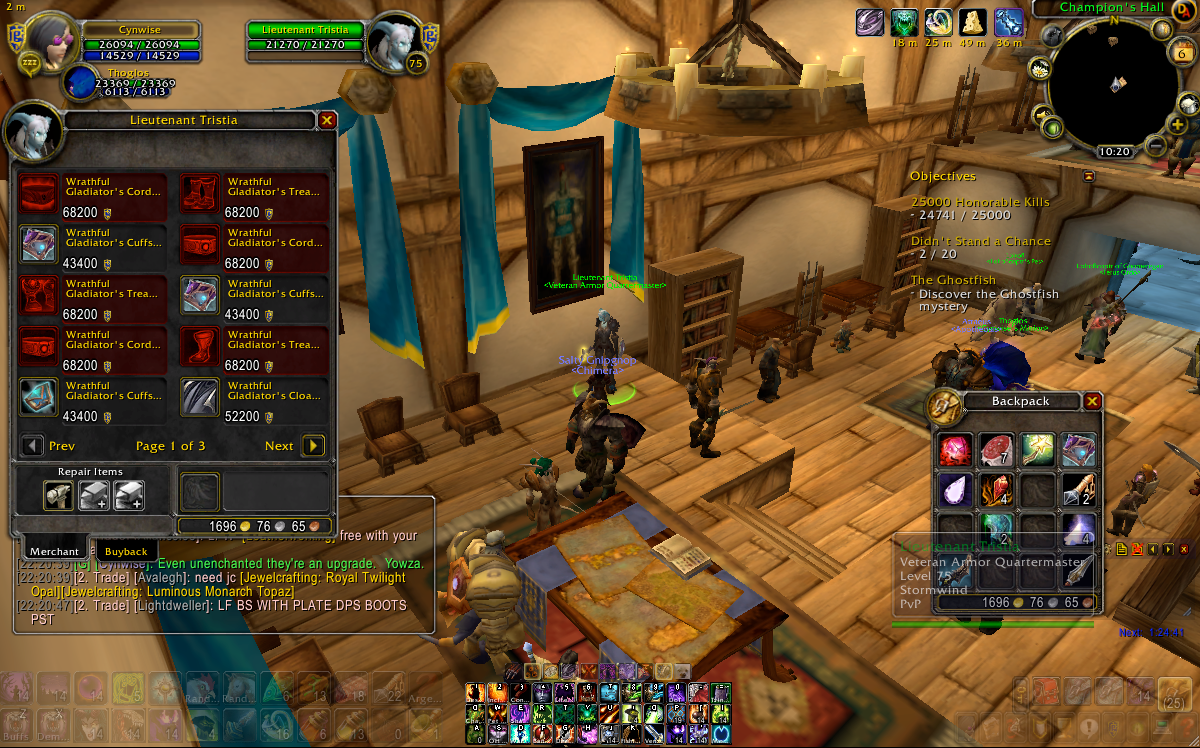 Wow Heirloom Vendor Location Stormwind ...