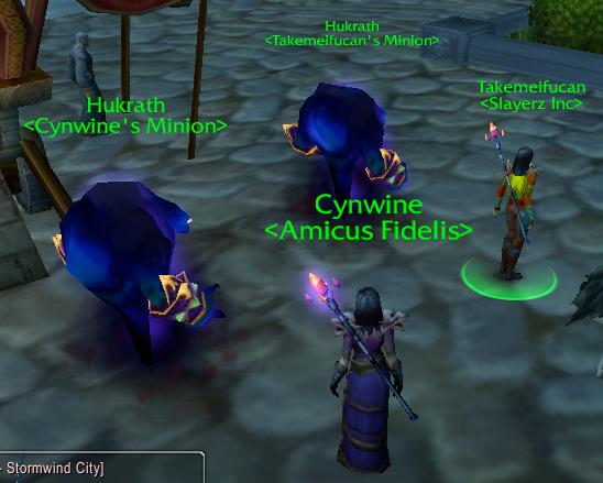 Funny warlock names female