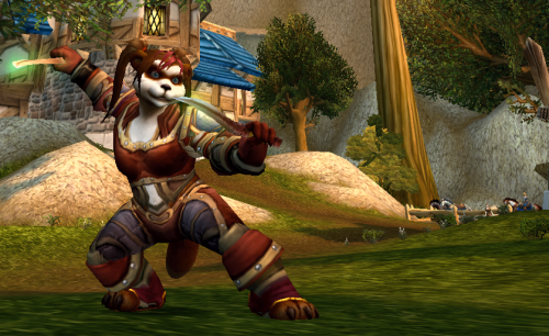 Cynxi - Pandaren Rogue - Melee at Rest -SW